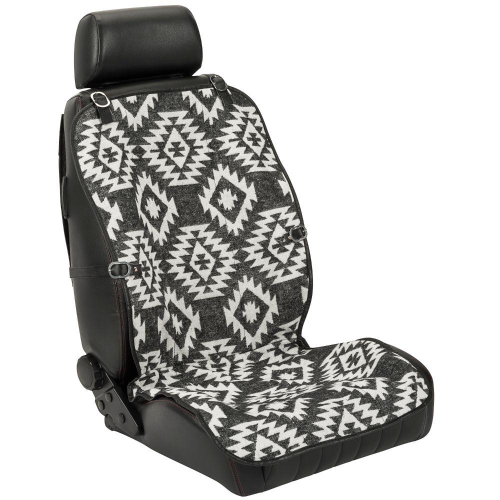 Pilot Automotive SC-569 Seat Vest Wool Black and Gray 1 Piece